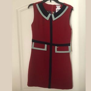 KLING Preppy Mod Dress NWT